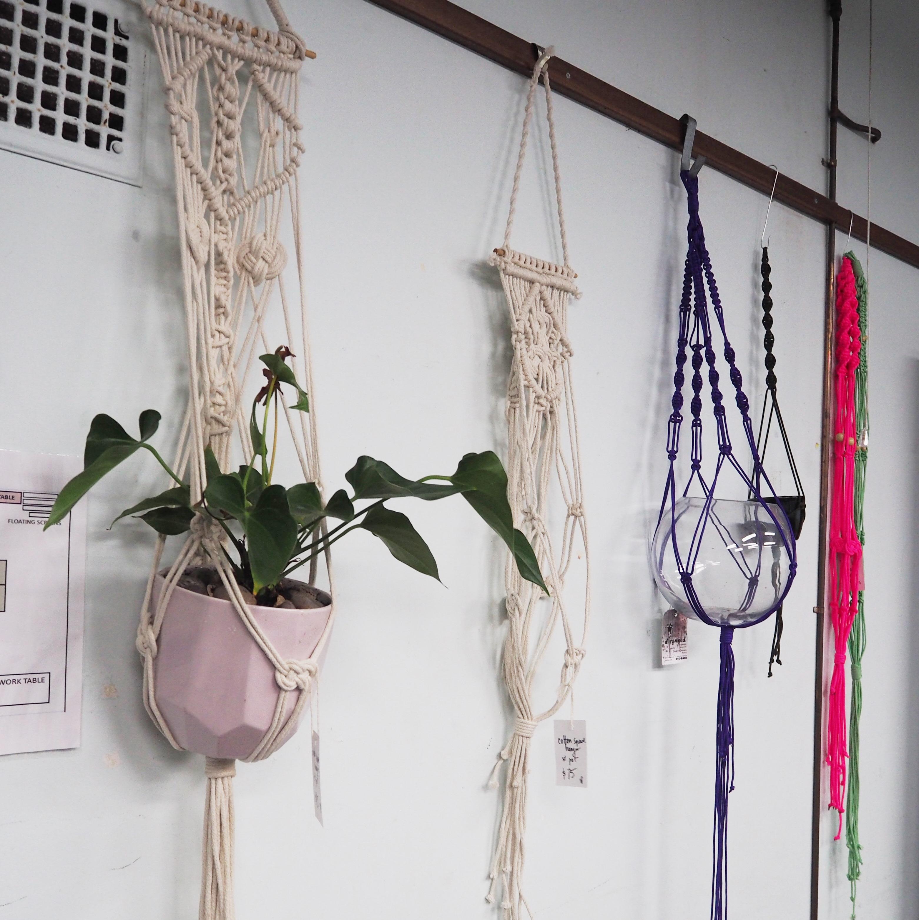 BSS: Macrame Wall Plant Hanger
