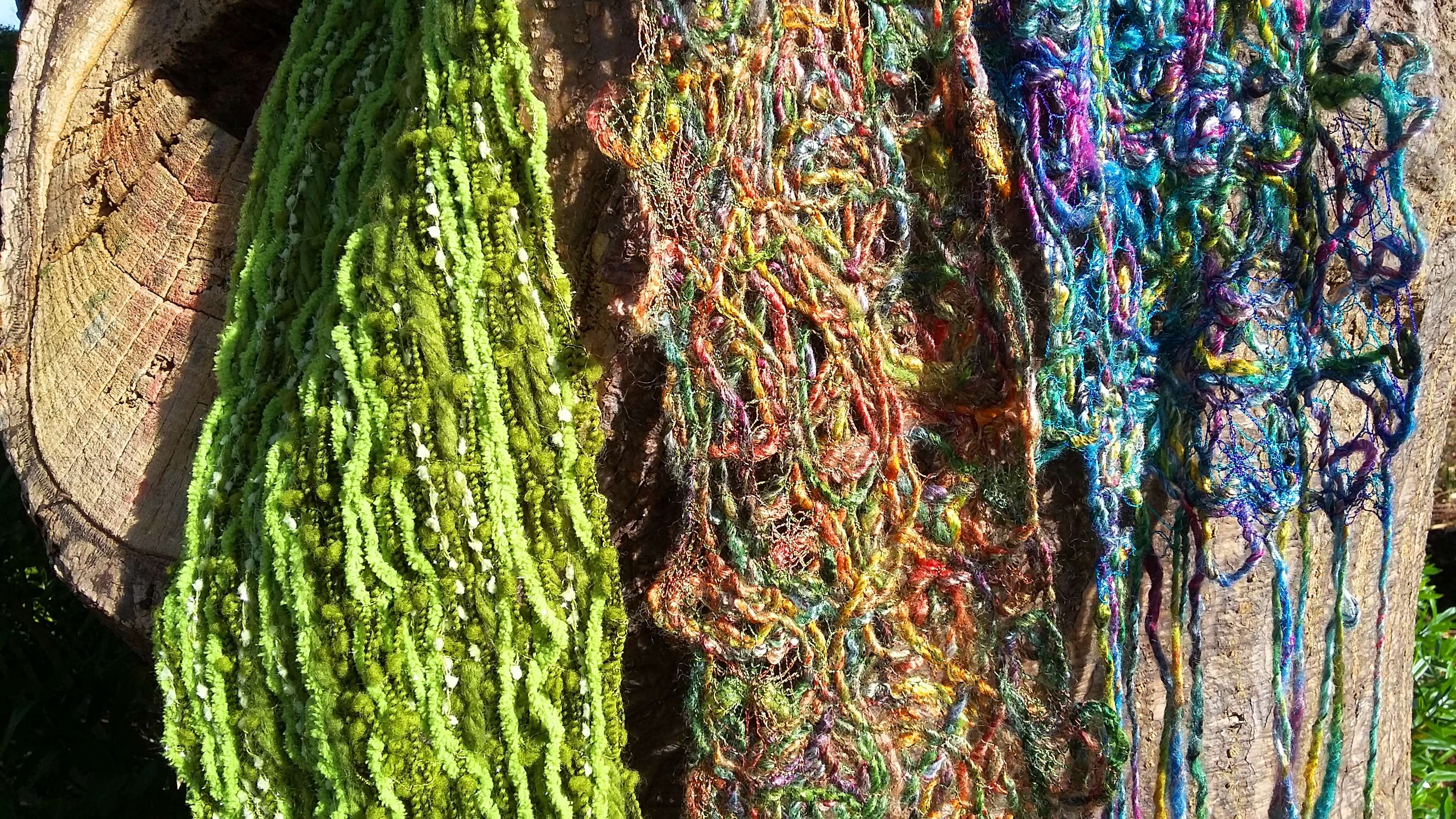 BSS: Freeform Stitched Scarf