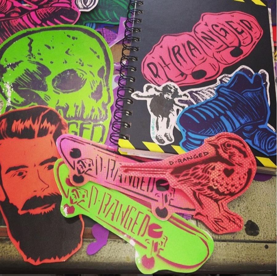 BSS: Spray Stencils & Stickers