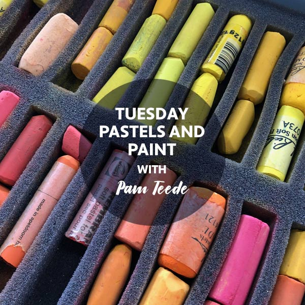 STAT1 Tuesday Classes Pastels and Paint art classes