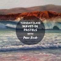 Waves in Pastels workshop