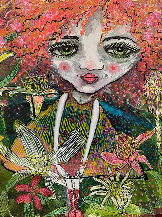 Peculiar Portrait by Mychelle Mahar
