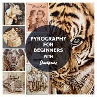 STAT2 Pyrography for beginners with Shahnaz - FULL