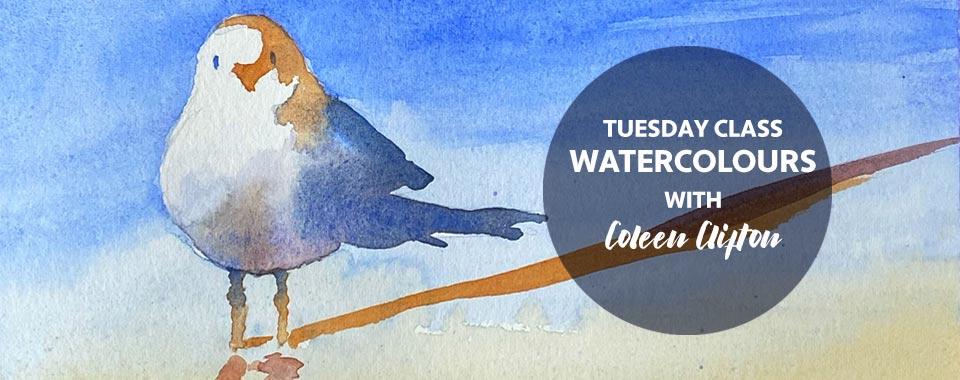 Tuesday Watercolours DB