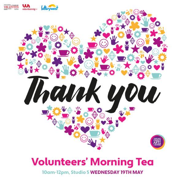 Volunteers' Morning Tea