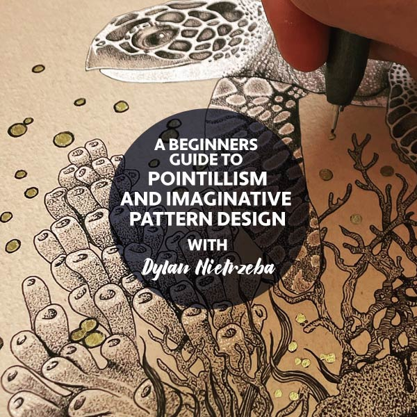 A Beginners guide to Pointillism and Imaginative Pattern Design