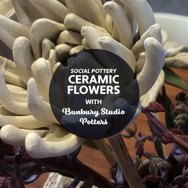 STAT3 Social Pottery - Ceramic Flowers with Jo Floyd - FULL