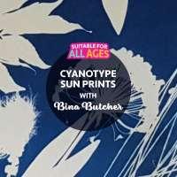 SHP2 Cyanotype Sun Prints with Bina Butcher