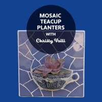 STAT3 Mosaic Teacup Planters Workshop