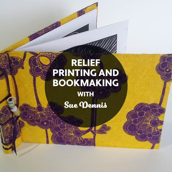 STAT3 Relief Printing and Bookmaking with Sue Dennis