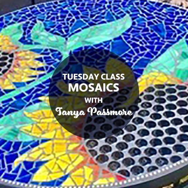 STAT3 Tuesday Mosaics with Tanya Passmore