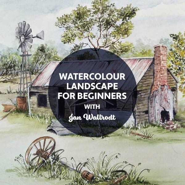 STAT3 Watercolour Landscape for Beginners