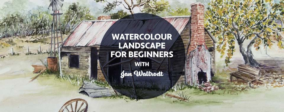 Watercolour Landscape for Beginners DB