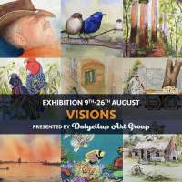Visions - art exhibition by Dalyellup Art Group