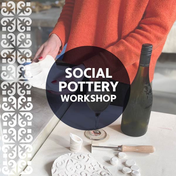 STAT3 Social Pottery - Ceramic Wine Cooler with Jacki Hooper