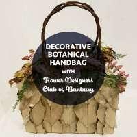 BSS22: Decorative Botanical Handbag