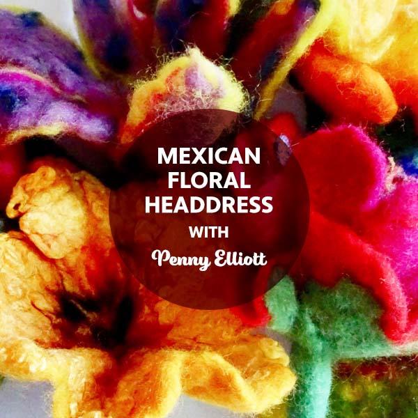 BSS22: Mexican Floral Headdress