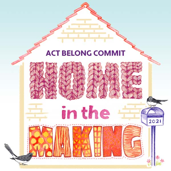 Home in the Making Exhibition artwork