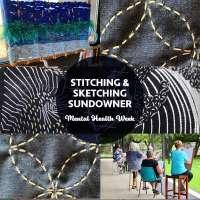 Stitching & Sketching Sundowner: Mental Health Week WA
