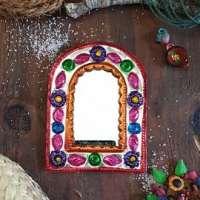 BSS22: Mexican Folk Art Mirror