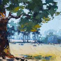 BSS22: Landscape with Water Soluble Oils